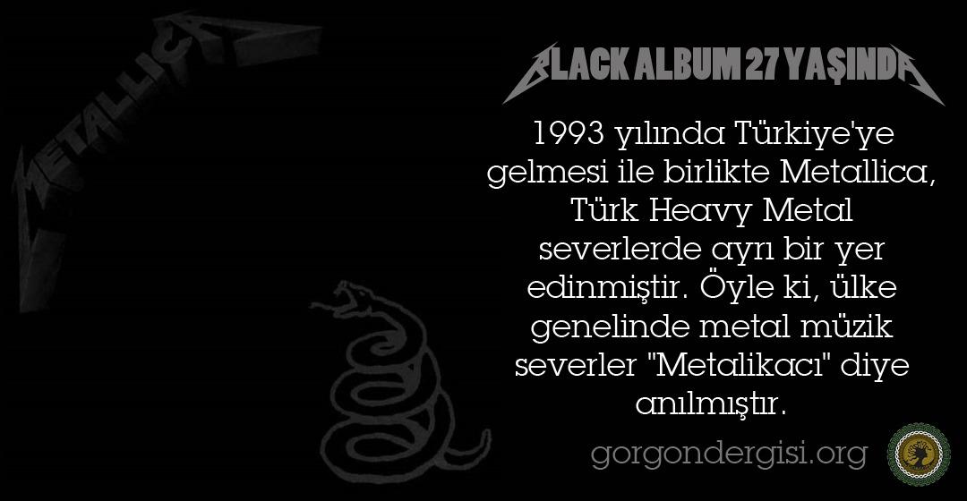 Black Album 27 Yaşında