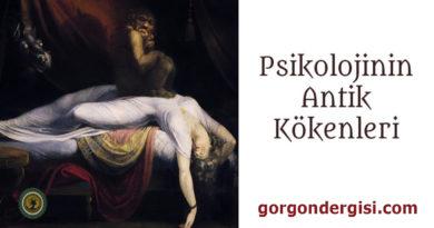 Psikolojinin Antik Kökenleri