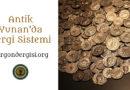 Antik Yunan'da Vergi Sistemi