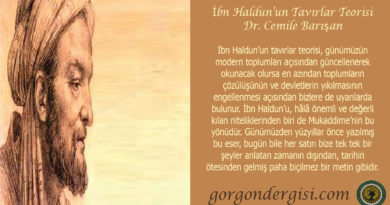 İbn Haldun'un Tavırlar Teorisi