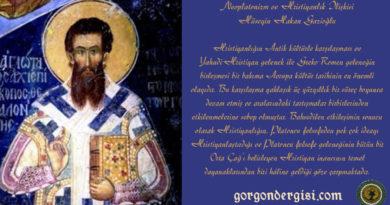 Neoplatonizm ve Hristiyanlık İlişkisi