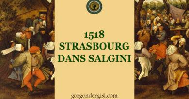 1518 Strasbourg Dans Salgını